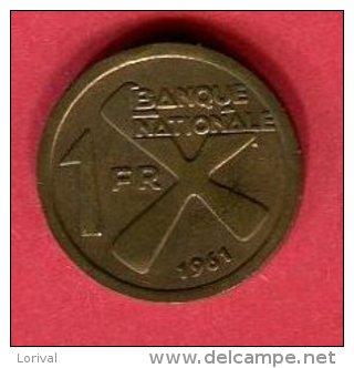 KATANGA 1 FRANC        (KM 1  ) TB 5 - Zaire (1971-97)