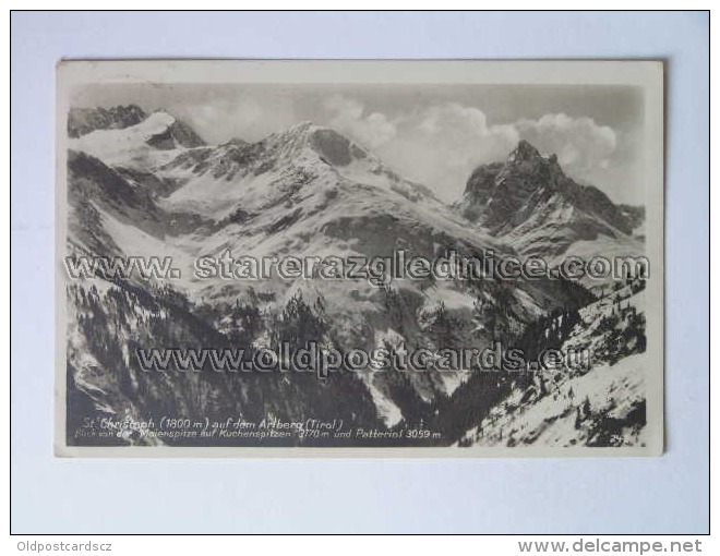 TYR 32 St Cristoph Arlberg Foto L Pileghar - Non Classificati