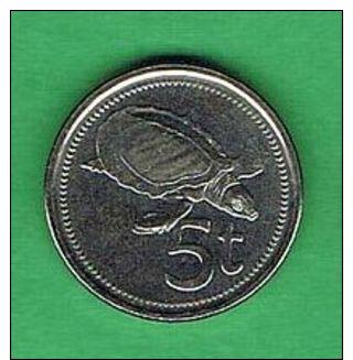 Z383 Papua Nueva Guinéa 5 Toea 2010 - Papuasia Nuova Guinea
