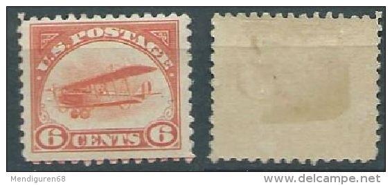 USA 1918 AIRMAIL Curtiss Jenny  MNH   6c SC C1 MI 248 SG PA1 YV A54 - Air Mail