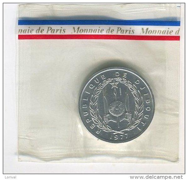 ESSAI MONNAIE DE PARIS DJIBOUTI SUP 15 - Gibuti