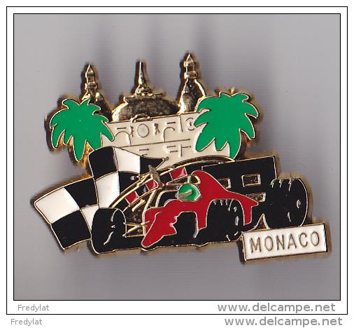 PIN´S  THEME AUTOMOBILE  GRAND PRIX DE MONACO - Automobile - F1