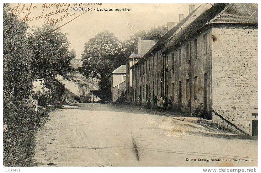 CPA - CADOLON (71) - Les Cités Ouvrières - France
