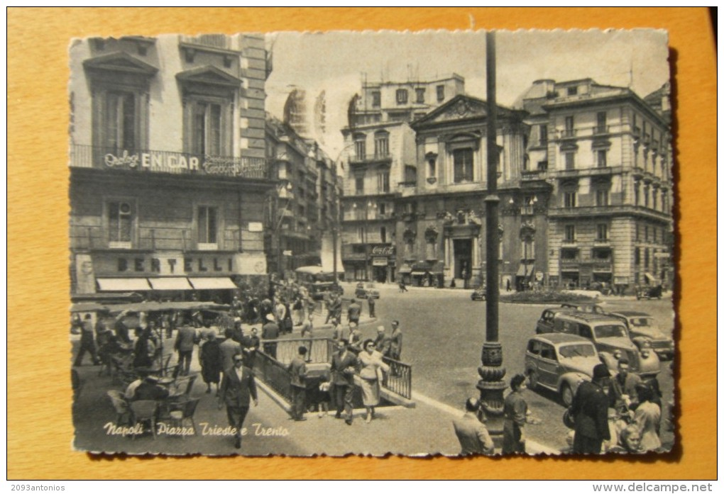 CARTOLINA Di  NAPOLI VIAGGIATA   A9954 - Napoli