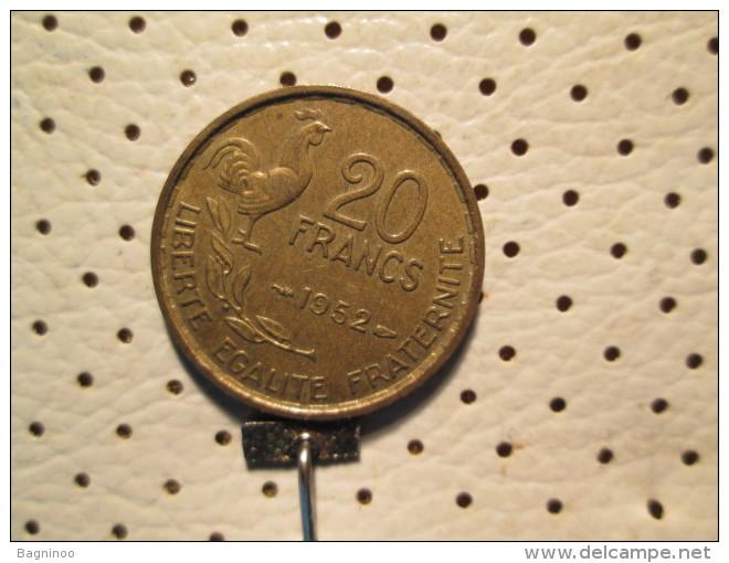 FRANCE 20 Francs 1952 - Frankrijk