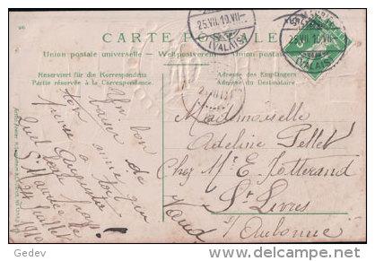 St Maurice, Timbres Et Médaille, Litho (5439) - VS Valais