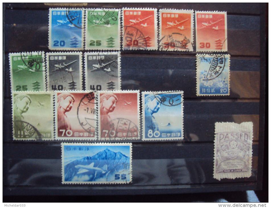 JAPON Poste Aérienne - Airmail