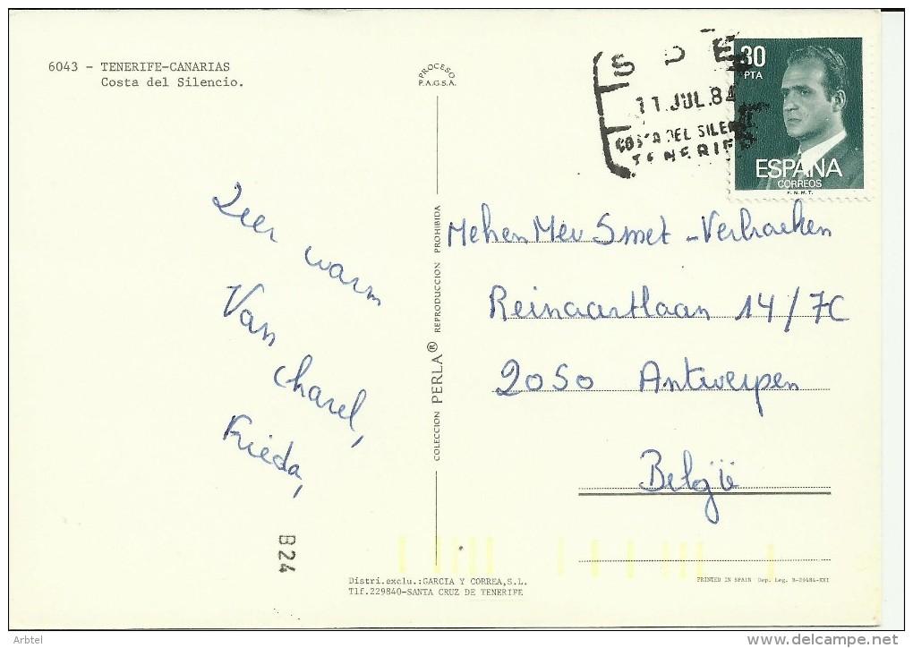 TP CANARIAS MAR SPE COSTA DEL SILENCIO TENERIFE - 1931-Hoy: 2ª República - ... Juan Carlos I