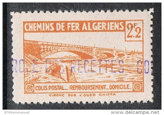 ALGERIE COLIS POSTAL N°95 N** - Algérie (1924-1962)
