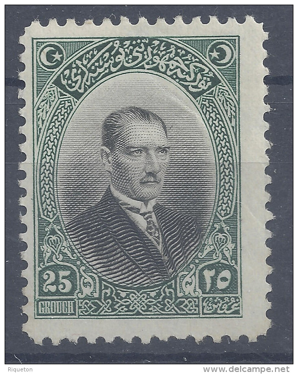 TURQUIE - 1926 -  N° 705 - NEUF - X -  TB -  COTE : 20.00 € - - Nuevos