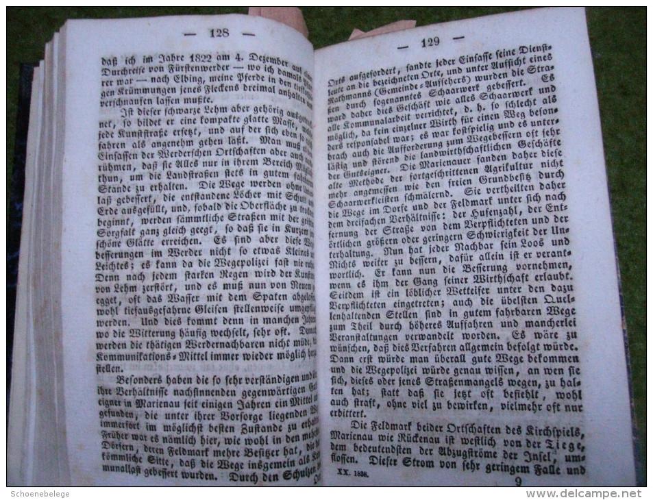 A2985) Vaterländisches Archiv Für Wissenschaft Ua., 20.Band Königsberg 1838 - Bücher, Zeitschriften, Comics