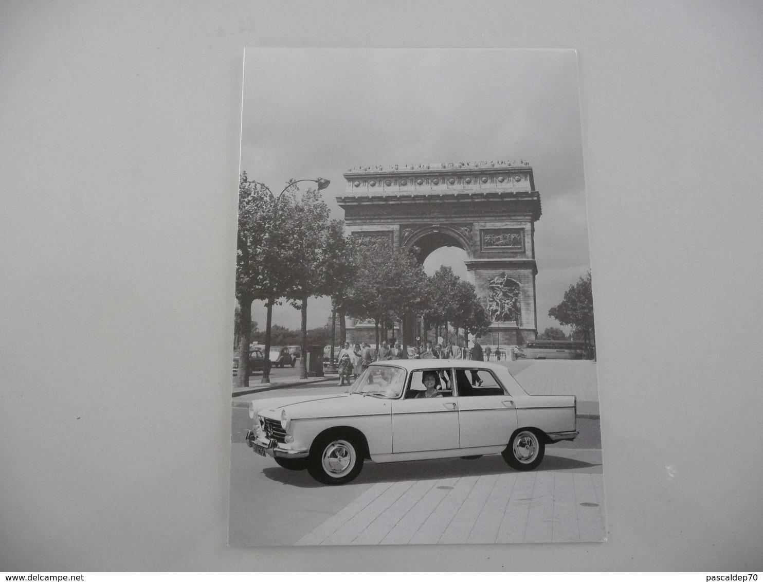 PEUGEOT - 404 - Voeux 2010 Du Musée De L\'Aventure PEUGEOT - Cars