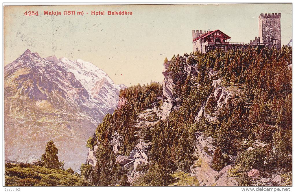 Suisse Maloja  Hotel Belvedere - Hotels & Restaurants