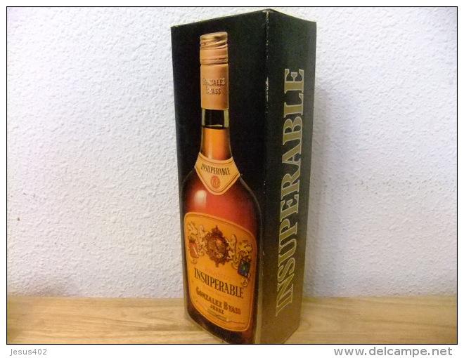 BRANDY INSUPERABLE VINTAGE Año 1978 Un Litro Llena - Licor Espirituoso