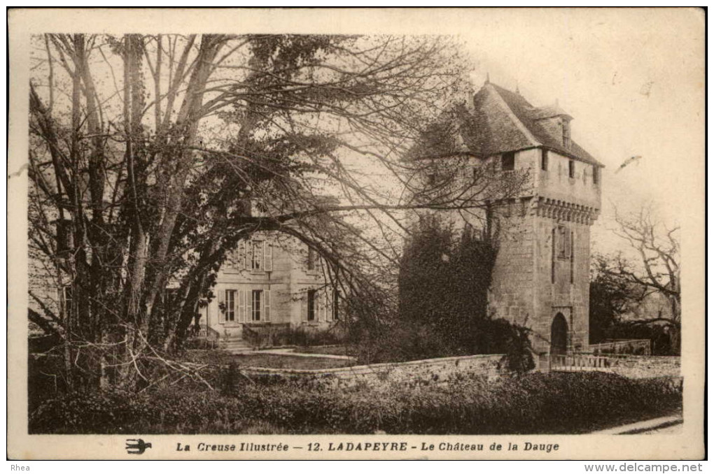 23 - LADAPEYRE - Chateau - France