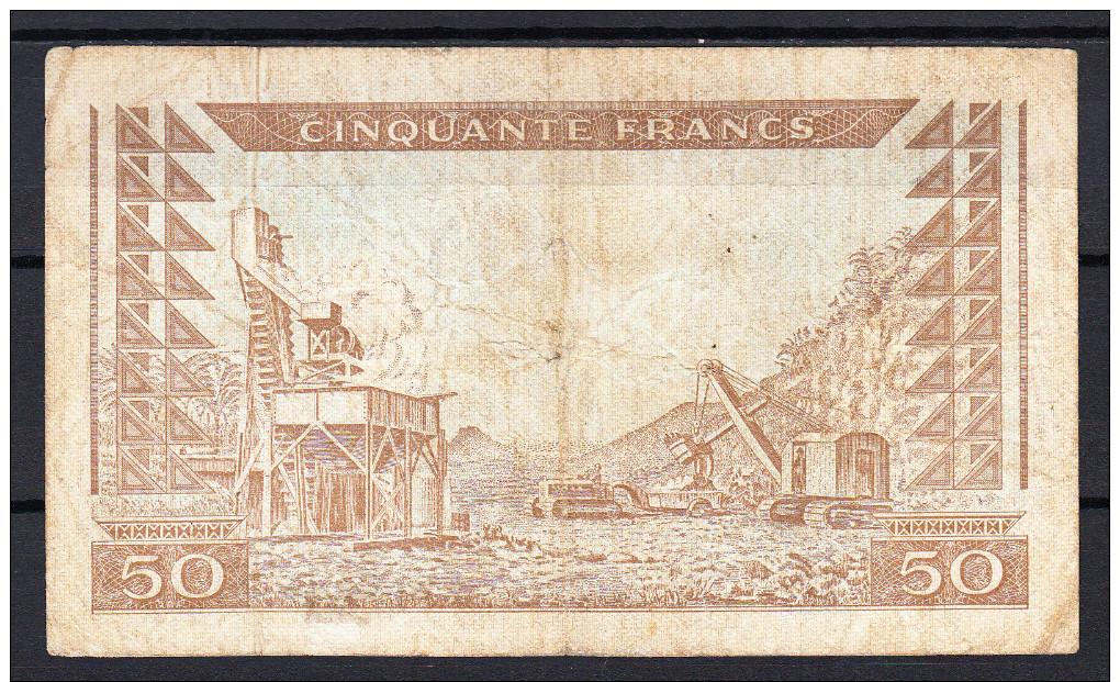 GUINEA 1960  50 FRANCOS. MBC. VERY FINE     VER FOTO.B192 - Guinea