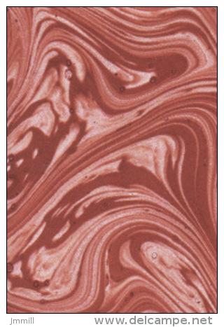 Papier Reliure Relieur Restauration : Un Lot De 6 Feuilles De Papier Marbré Rouge Brun GRAND FORMAT 65 X 100 Cm - Creative Hobbies