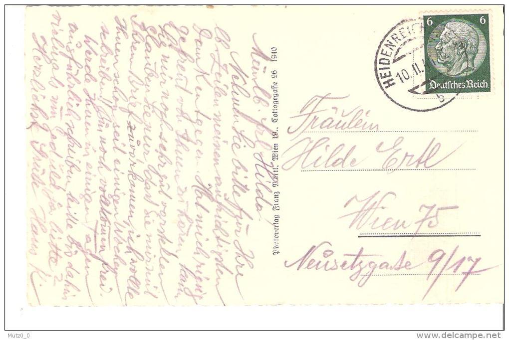 AK 0029  Heidenreichstein , Schloss - Verlag Mörtl Um 1940 - Gmünd