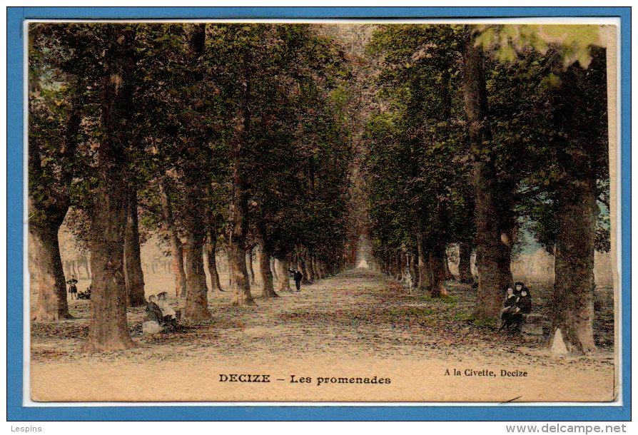 58 - DECIZE -- Les Promenades - Decize