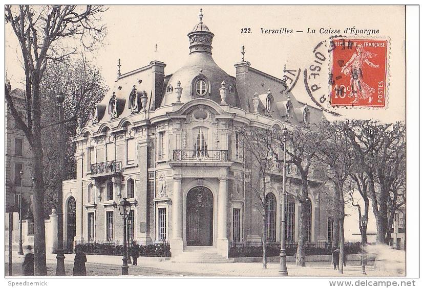 24340 Trois Cpa Versaille, 259montreuil Eglise Symphorien,350 Hopital ELD, 122 Caisse Epargne-bourdier - Versailles