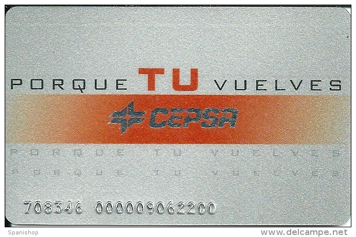 Gasoil - Gasoline - Oil Card CEPSA - Unclassified