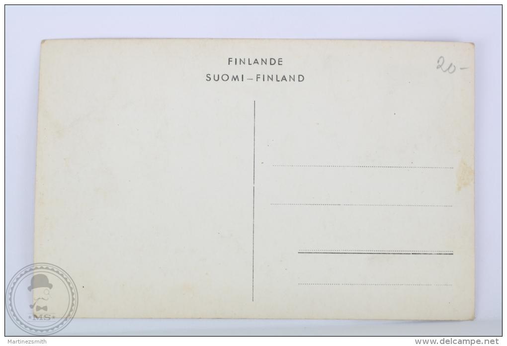 Real Photo Postcard Finland - Helsinki - Pohj. Esplanaadikatu - Unposted - Finlandia