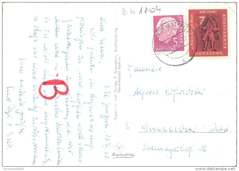 BG1104 Nordseebad Borkum Springflut Vor Der Wandelhalle  CPSM 14x9.5cm Germany - Borkum