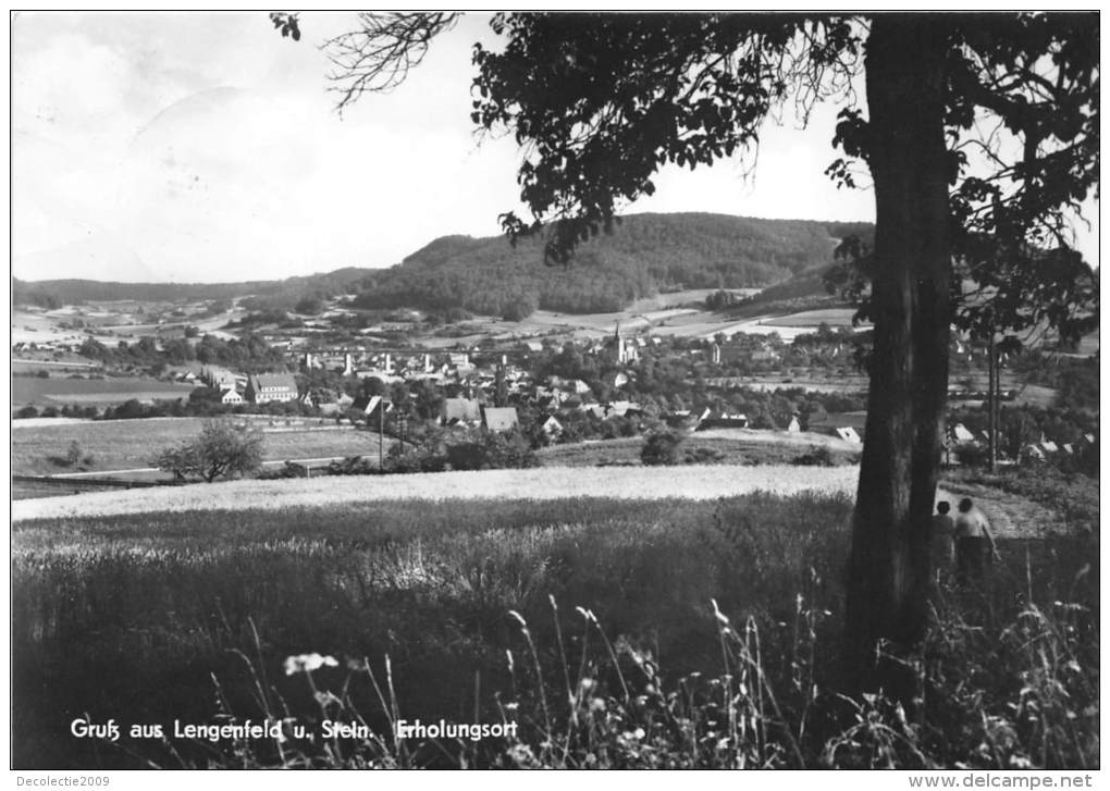 BG328 Gruss Aus Lengenfeld U Stein Erholungsort  CPSM 14x9.5cm Germany - Lengefeld