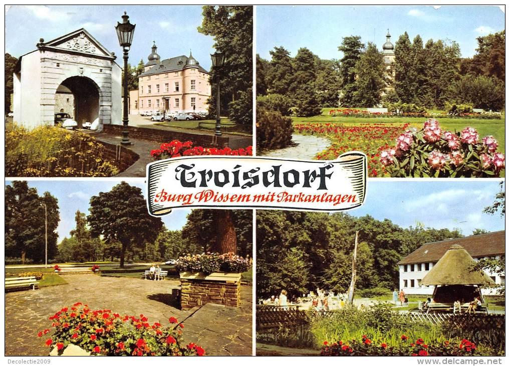 BG400  Troisdorf Burg Wissem Mit Parkanlagen  CPSM 14x9.5cm Germany - Troisdorf