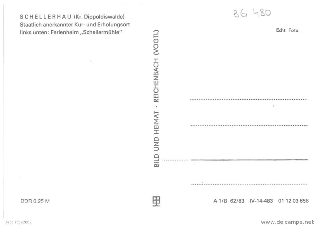 BG480 Schellerhau Kr Dippoldiswalde   CPSM 14x9.5cm Germany - Schellerhau