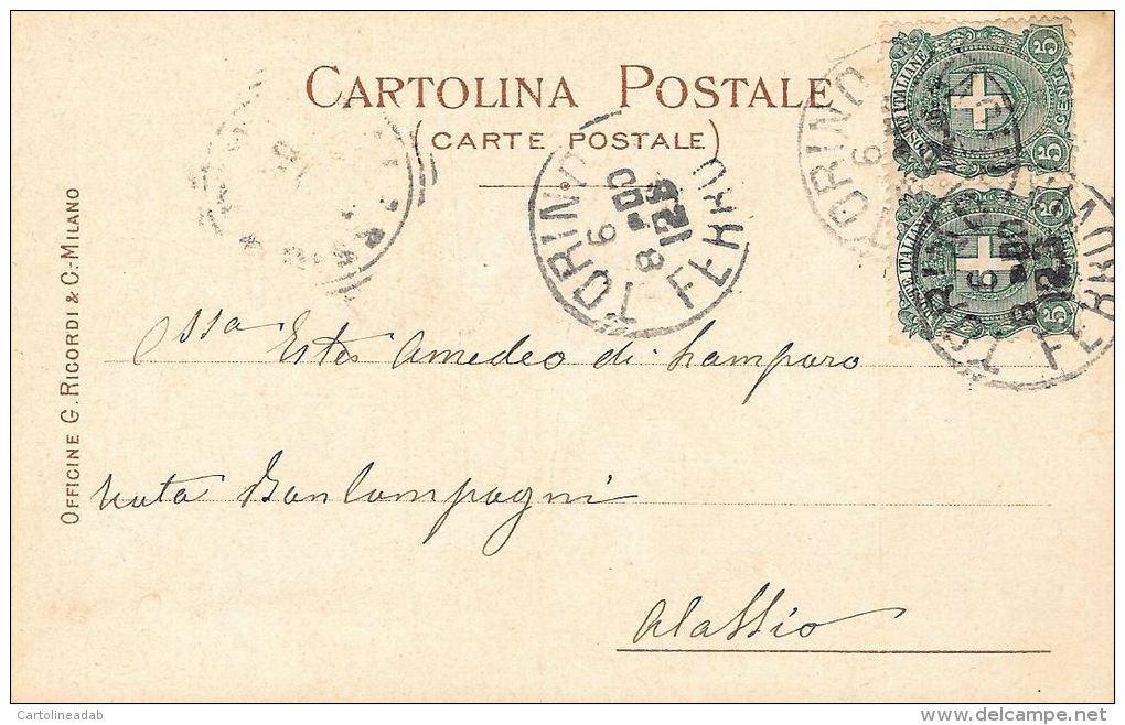 [DC5210] CARTOLINA - RARA - PERFETTA - ESPOSIZIONE NAZIONALE D'ALLEVAMENTO CANI E GATTI - CORRIERE DELLA SERA - V - Esposizioni