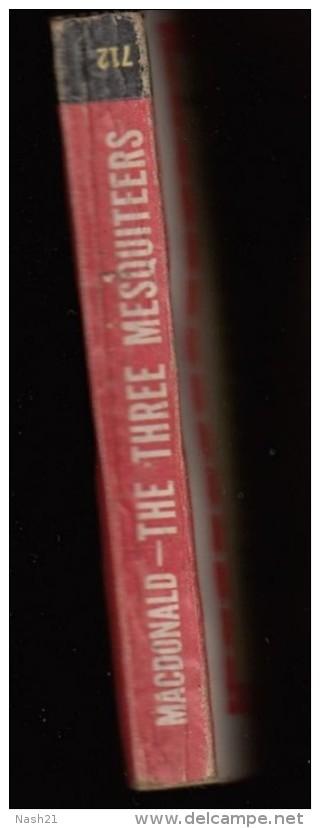 Livre De Type Western '' The Three Mesquiteers '' By William Colt Mac DONALD   -  Editions  Armées U.S  En  313 Pages - Forces Armées Américaines