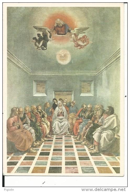 REL150 -BELLE ARTI - CARTOLINA F.G. VIAGGIATA - LUCA SIGNORELLI - LA PENTECOSTE - Pittura & Quadri