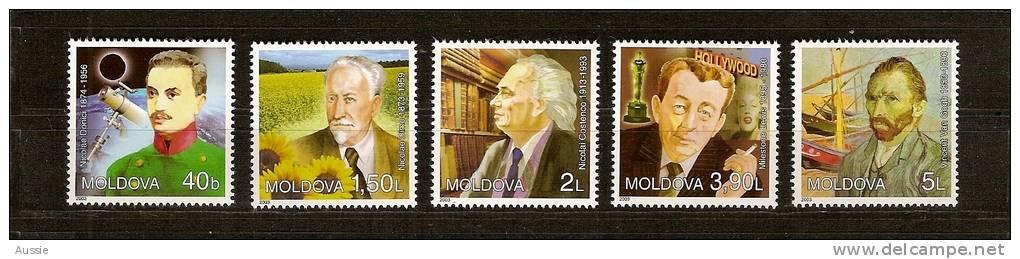 Moldavie Moldova 2003 Yvertn° 411-15 *** MNH Cote 16,50 Euro Van Gogh Ea - Moldavie