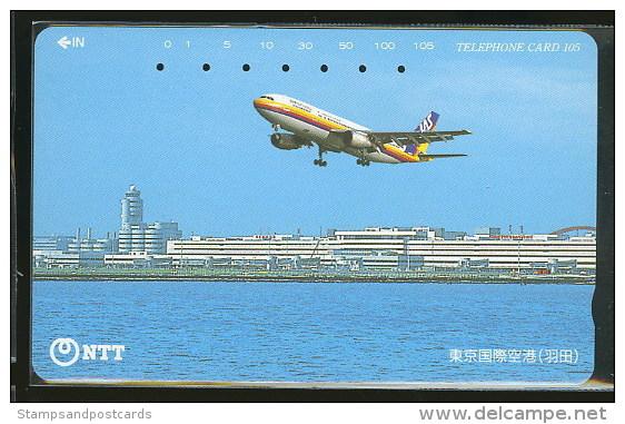 Avion Avions Télécarte Japon Airplane Airplanes Phonecard Japan - Avions