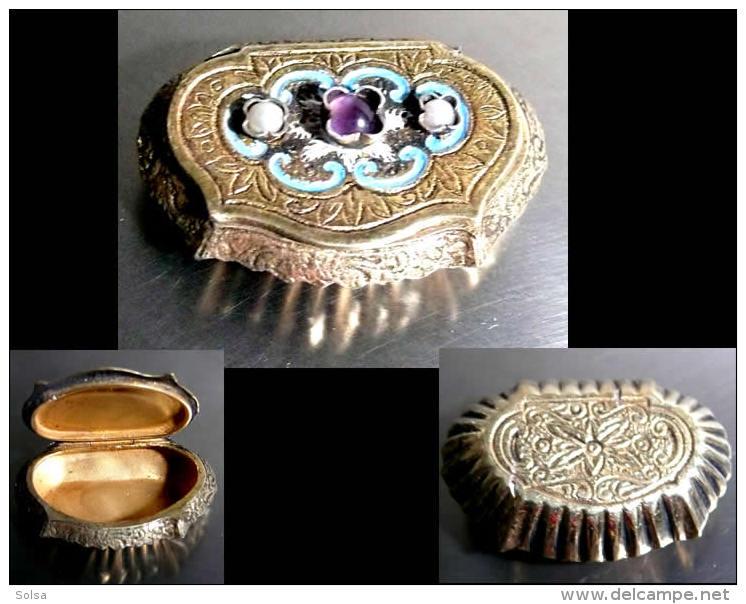 Ancienne Précieuse Boîte à Sniffer Magyar / Old Hungarian Precious Snuff Box - Contenitori Di Tabacco (vuoti)