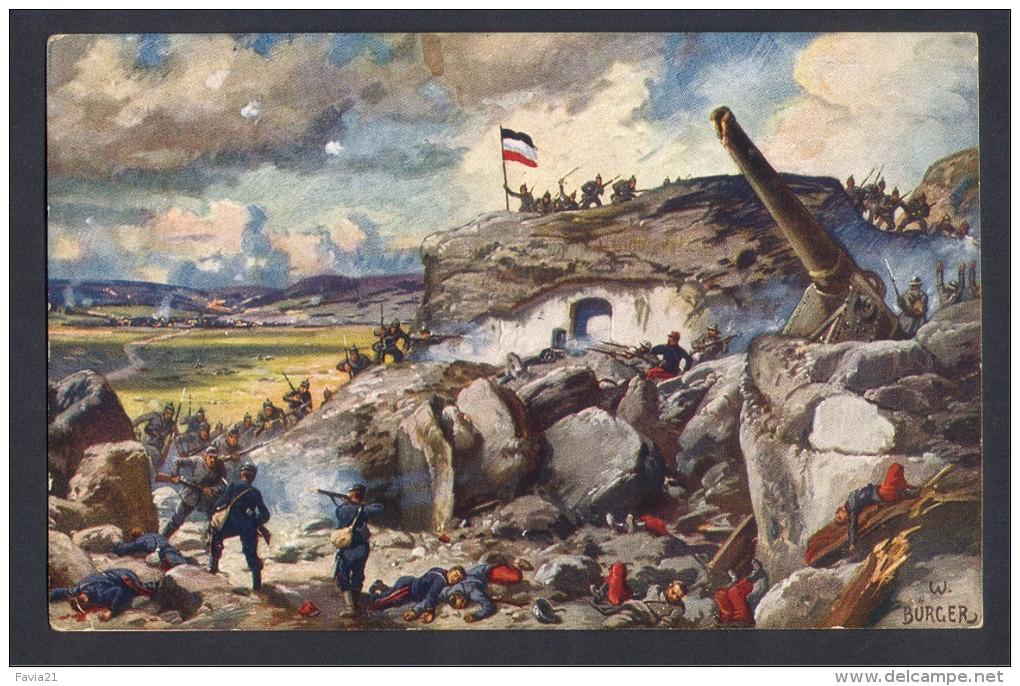 CPA - ALLEMAGNE Guerre 14/18 - VERDUN - Fort Douaumont - Feldpost - Guerre 1914-18