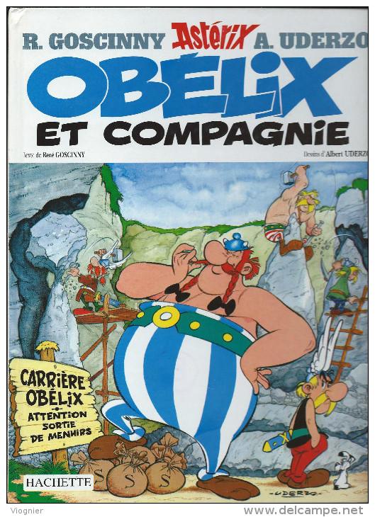 Astérix 23. Obélix Et Compagnie  René Goscinny Albert Uderzo Hachette 1999  Bon état - Astérix