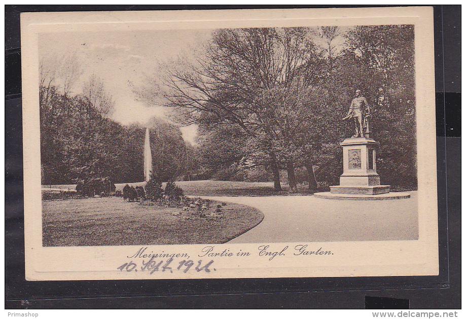 S42 /   Meiningen Englischer Garten 1926 - Meiningen
