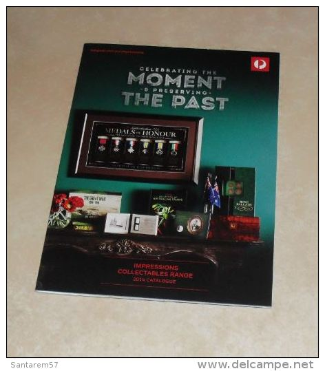 Catalogue 2014 Australie Collectables Range Celebrating The Moment & Preservating The Past - Englisch