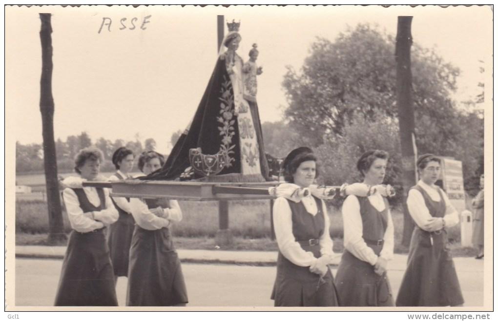 Asse - Processie Walfergem - Fotokaart - Asse