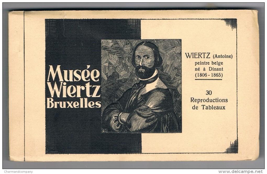 Mus�e Wiertz, Bruxelles, Antoine WIERTZ, 30 cartes / reproductions ...