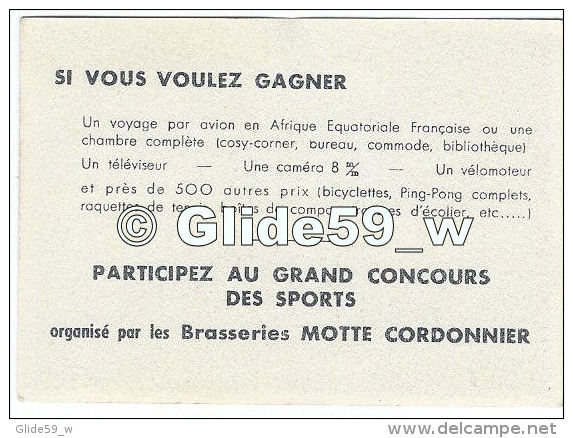 Chromo - Brasseries MOTTE CORDONNIER - Foot-ball 1 - Trade Cards