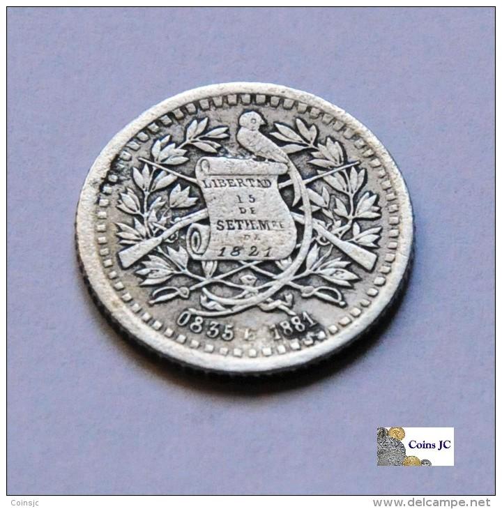 Guatemala - 1/2 Real - 1881 - Guatemala
