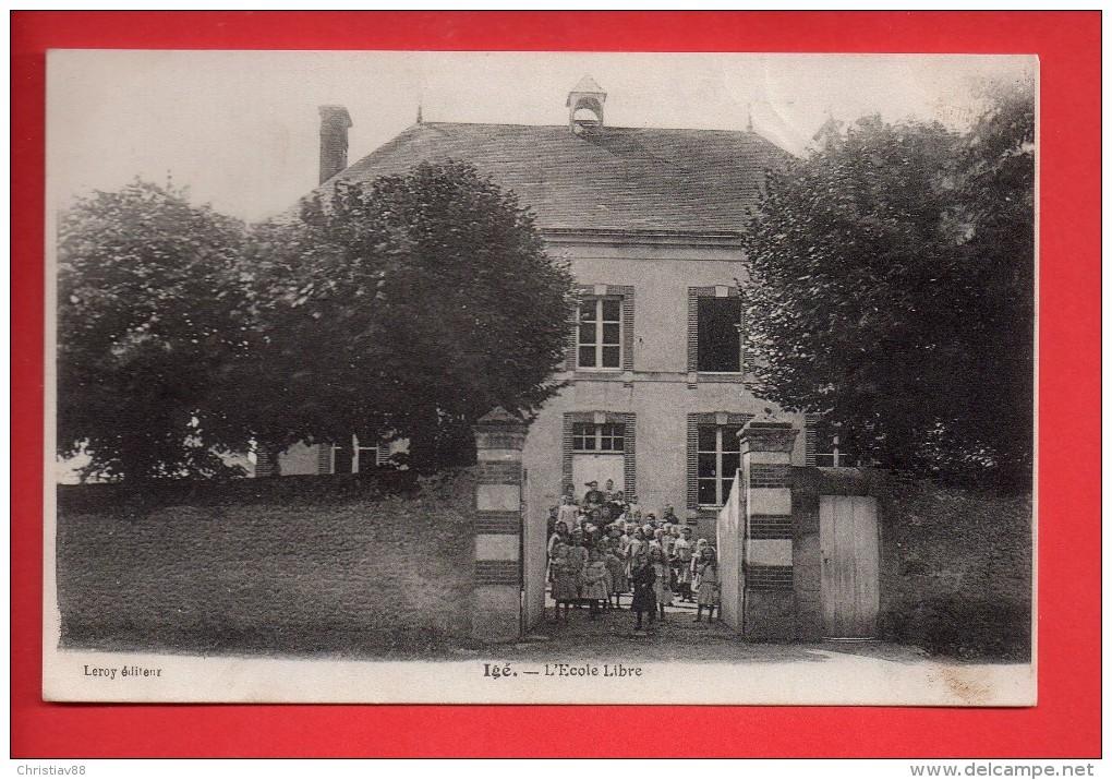 IGE - L'école Libre - Animée Enfants.  (D) - Autres Communes