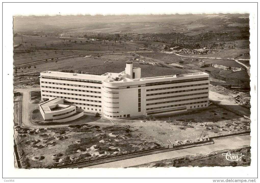 CPSM MAROC MEKNÈS Le Nouvel Hôpital Civil Vue Aérienne - Meknès