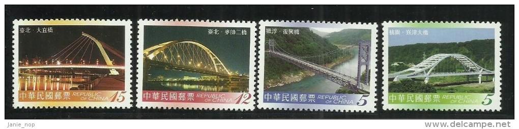 Republic Of China Bridges MNH - 1949 - ... Volksrepubliek
