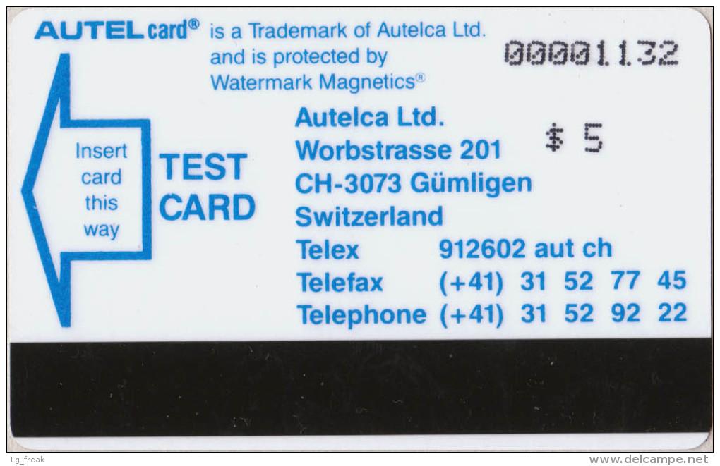 USA - Autelca - University Iowa Test - $5 - MINT - R - Stati Uniti
