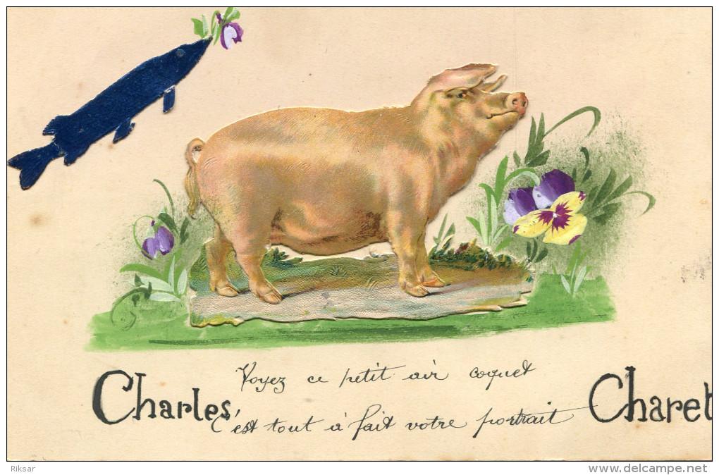 COCHON(PREMIER AVRIL) - Cochons