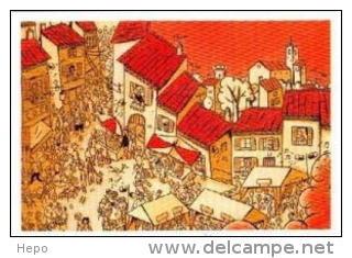 Dupuy Berberian - Festival Sollies -  Carte Postale - Cartes Postales